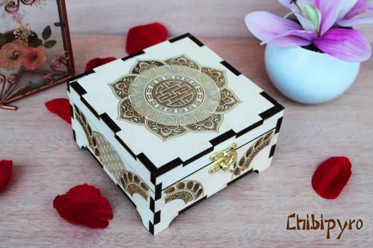 Wooden Box Chinese Style by ChibiPyro
