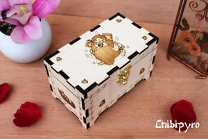 Wooden Box Niffler by ChibiPyro
