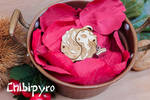Koi Yin Yang pendant by ChibiPyro