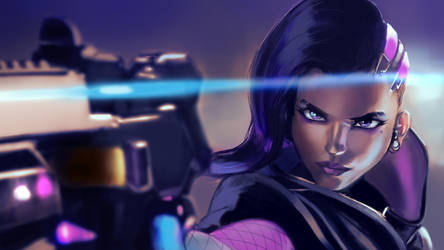 Sombra the Hacker by G21MM