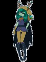 Huntress Wizard by GangstaCakes