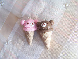 rilakkuma ice cream by CuteTanpopo
