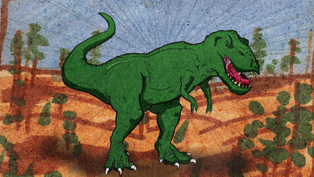 Today, we have a T-Rex by MikePouch
