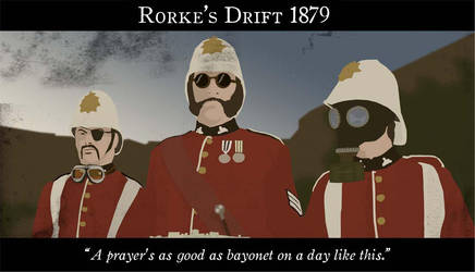 Rorkes Drift by TheRedmax
