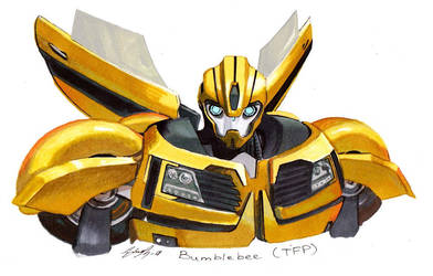 Transformers Prime (TFP) Bumblebee by chernobrovka