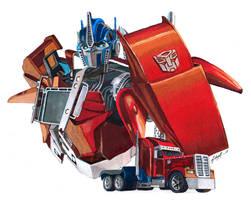 TFP Optimus Prime by chernobrovka