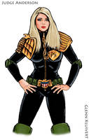 Judge Anderson 2.0 by GlennRoyal