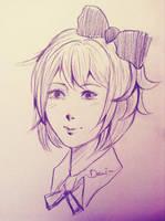 Sayori by eutopiah