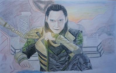 Loki by Lunalu-san