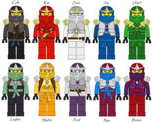 Ninjago Fan based Ninja Armor by Taraye