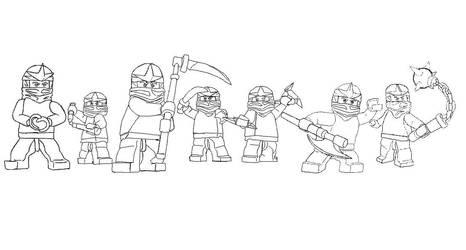 all Ninja pose by Taraye