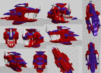 Ninjago OC Britan's Dragon Form from Lego Disgner by Taraye