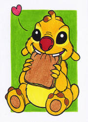 ACEO - Reuben by Goldy--Gry