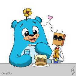 Pancakes by Goldy--Gry