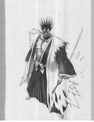 zaraki kenpachi by gsx1300r