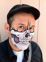 Purple Skull Mask 2 by RonnieMena