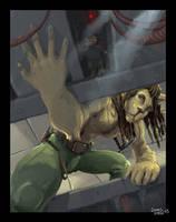 Rasta lion by noceur
