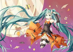 Halloween Miku by destizeph