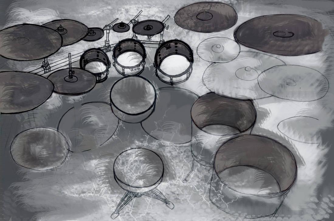 joey drum kit by father12345 on DeviantArt  Joey Jordison Drums Wallpaper