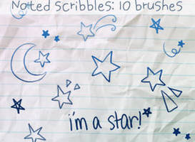 Star Doodles Brushes by ibeliever