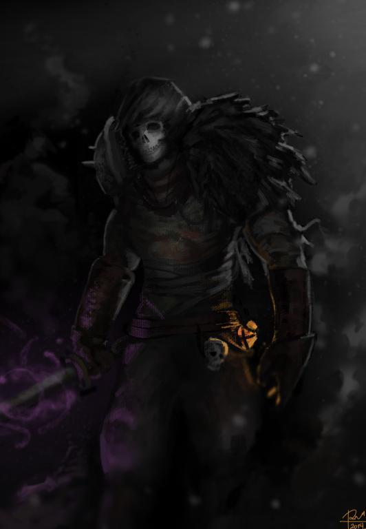 Dark Souls 2 Hexer By SharkAlpha