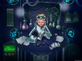 Dr. Horrible 2, White by JadeGordon