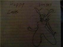 crazy bunny girl by BadDraw