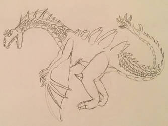 DracoTyrannus (Unofficial No-Earth Comics Concept) by ZombieGuyCXV