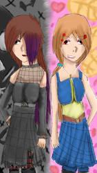 two best friends with different taste by KHRFAN123
