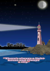 the light house  by KHRFAN123