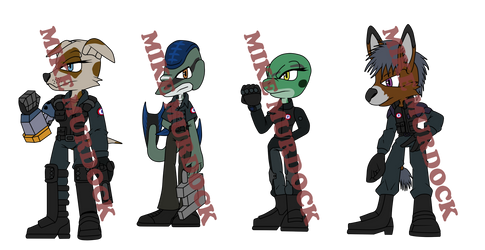 GUN character adopts -3 Left- by MikeJMurdock