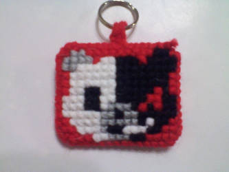 Monobear Keychain by Yoroko666