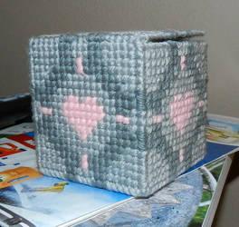 Companion Cube by Yoroko666