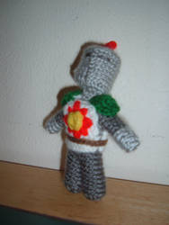 Solaire Plushie by Yoroko666