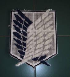 Recon Symbol Cross-stitch by Yoroko666