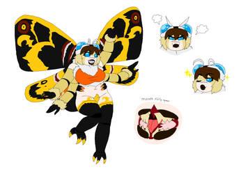 KG - Mothra by kentaurosman