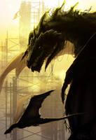 Behemoth Dragon by Kabukins