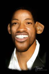 Will Smith Caricature by slippy88