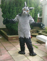 Mightyena Fursuit by Pokenines