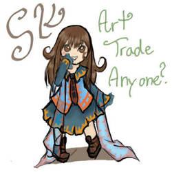 Art Trade Anyone? by Salioka-chan