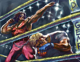 Final Fight - Andore by Wilustra