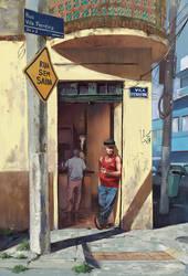 Boteco Vila Ferreira by Wilustra