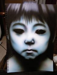 -TOSHIO- Airbrush by KisaMake
