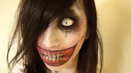 - Jeff The Killer -  Makeup3 by KisaMake