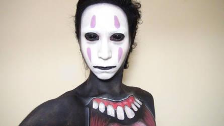- No-Face - Makeup 2 by KisaMake