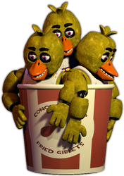 Kentucky Fried Chica by FNaFSFMStuff