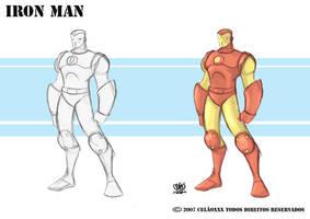 Iron Man  Marvel by celaoxxx
