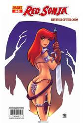 Red Sonja Dynamite Entertainment by celaoxxx