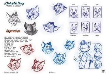 How to draw Expressions by celaoxxx