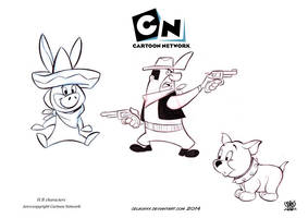 Hanna Barbera characters by celaoxxx